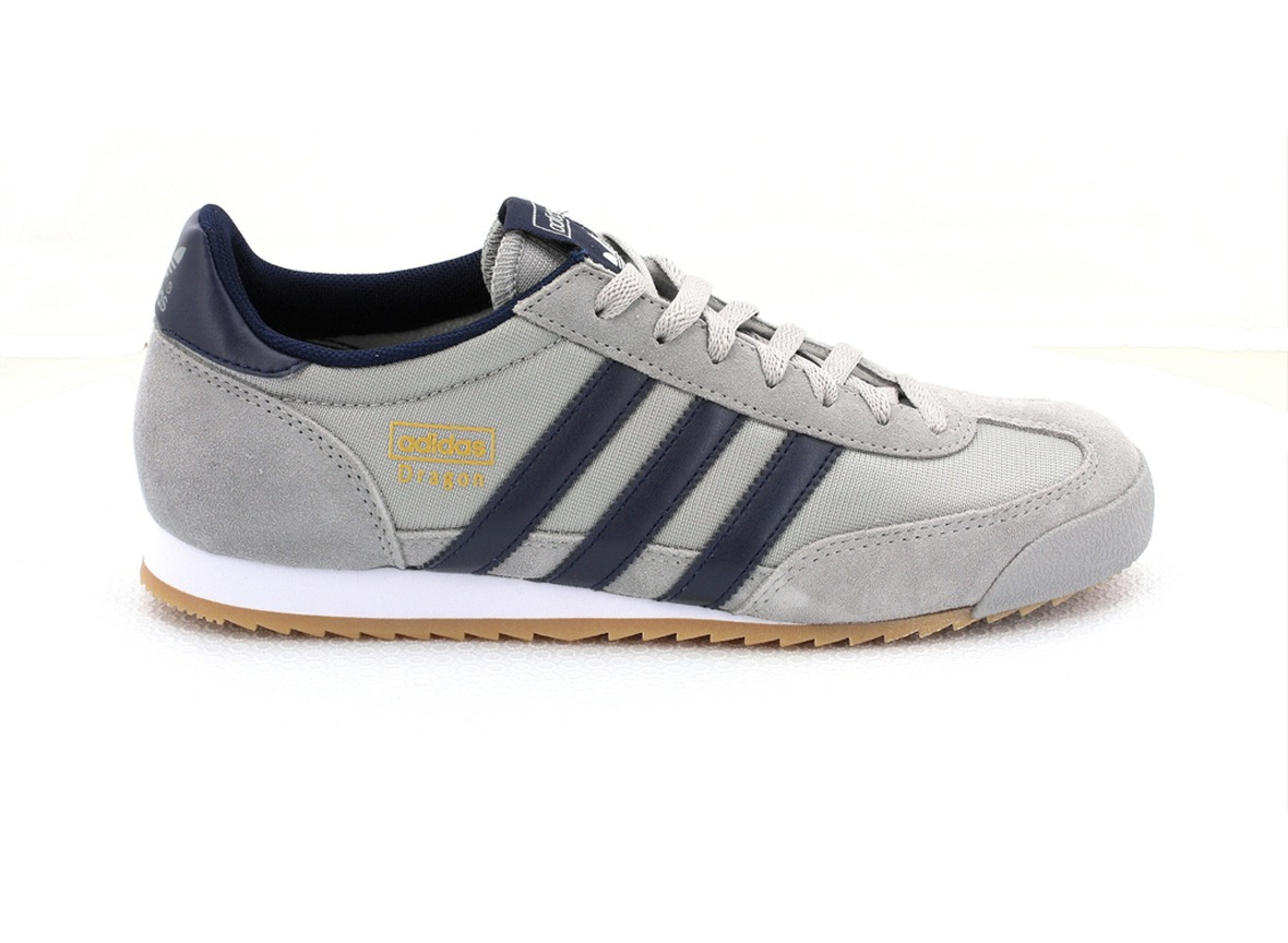 adidas dragon gris original
