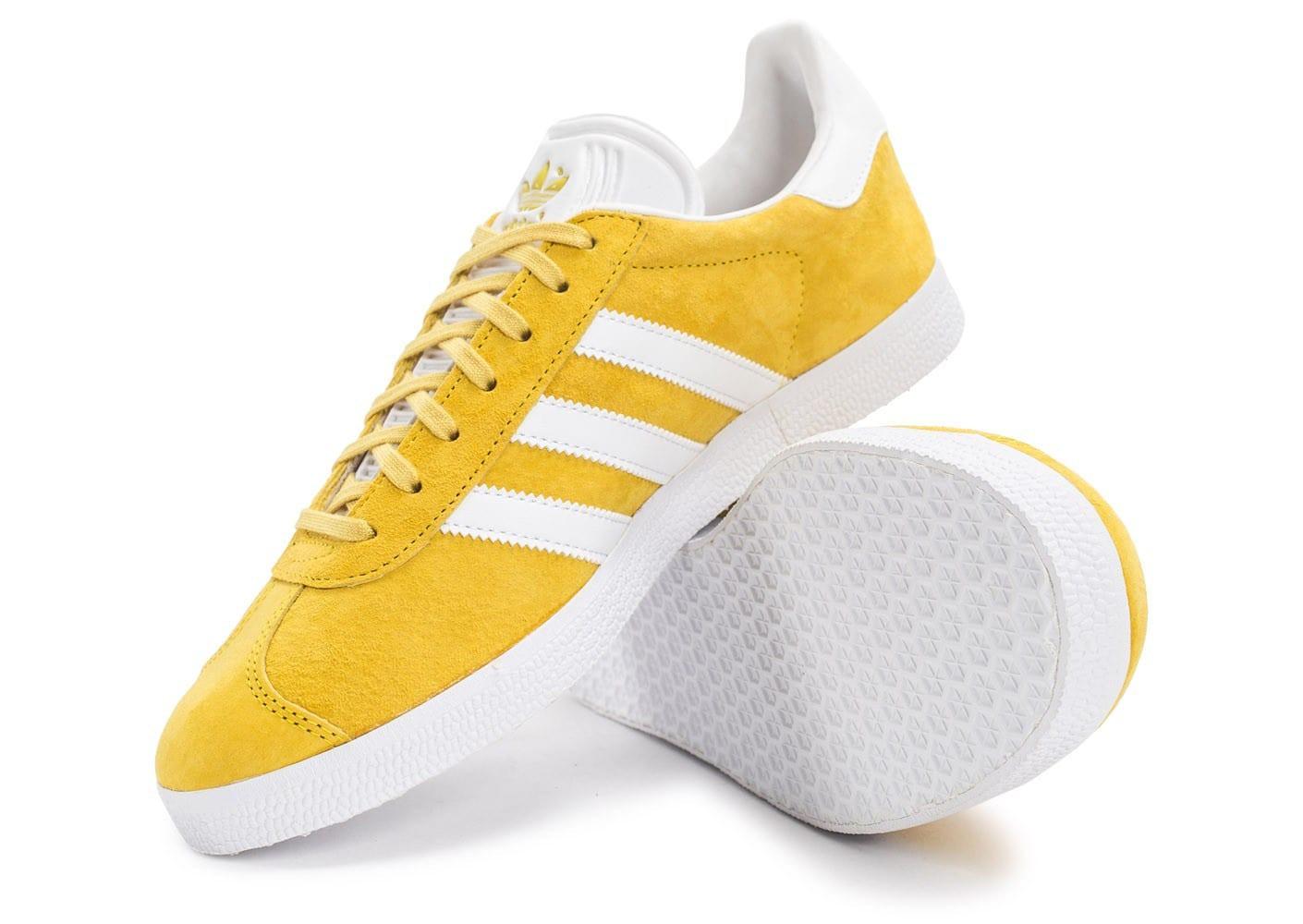 adidas gazelle homme jaune et noir