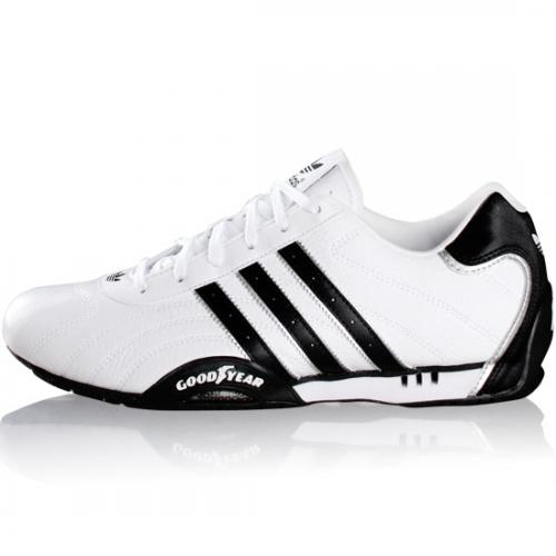 Soldes > basket adidas goodyear blanche > en stock
