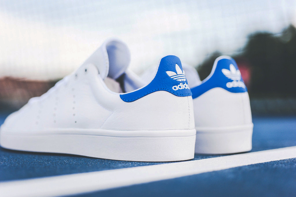 adidas stan smith femme bleu