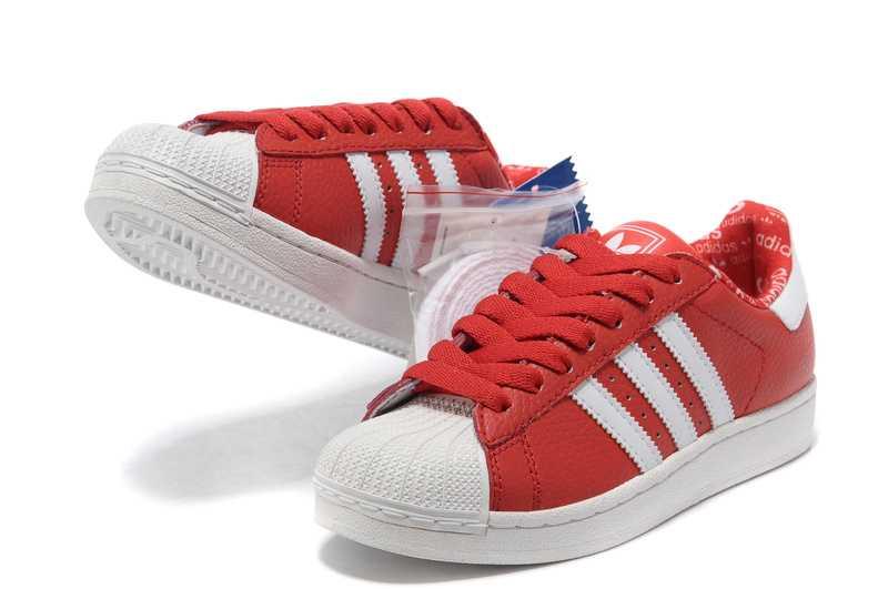 FemmeHomme Adidas Originals Superstar Rouge Homme