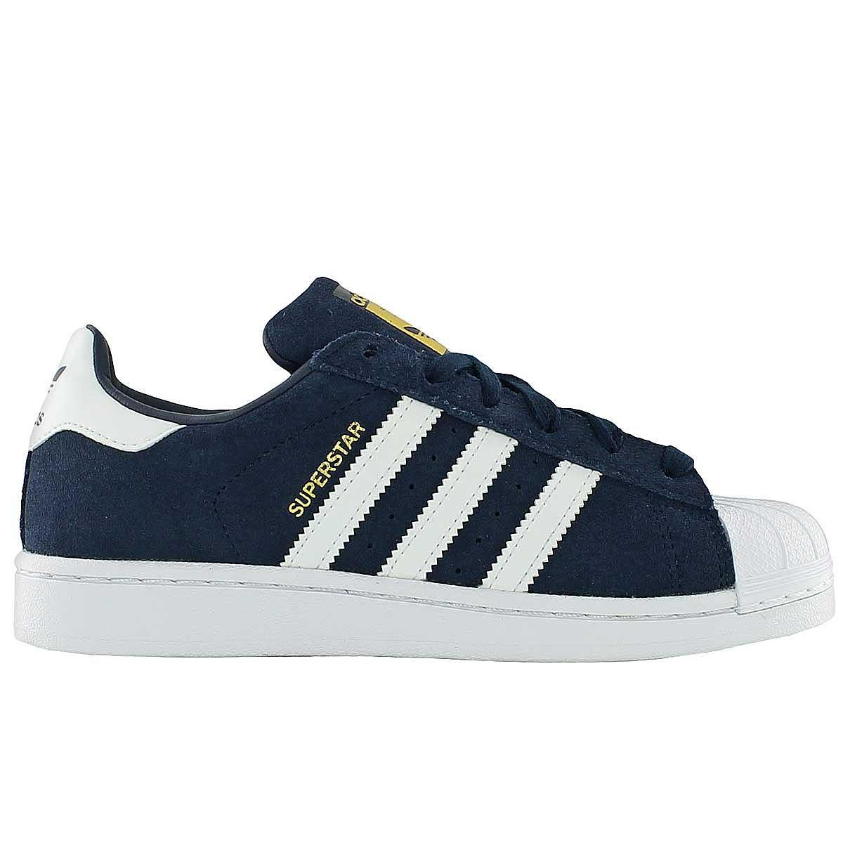 adidas superstar bleu navy