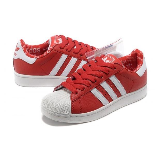 adidas original femme rouge jogging