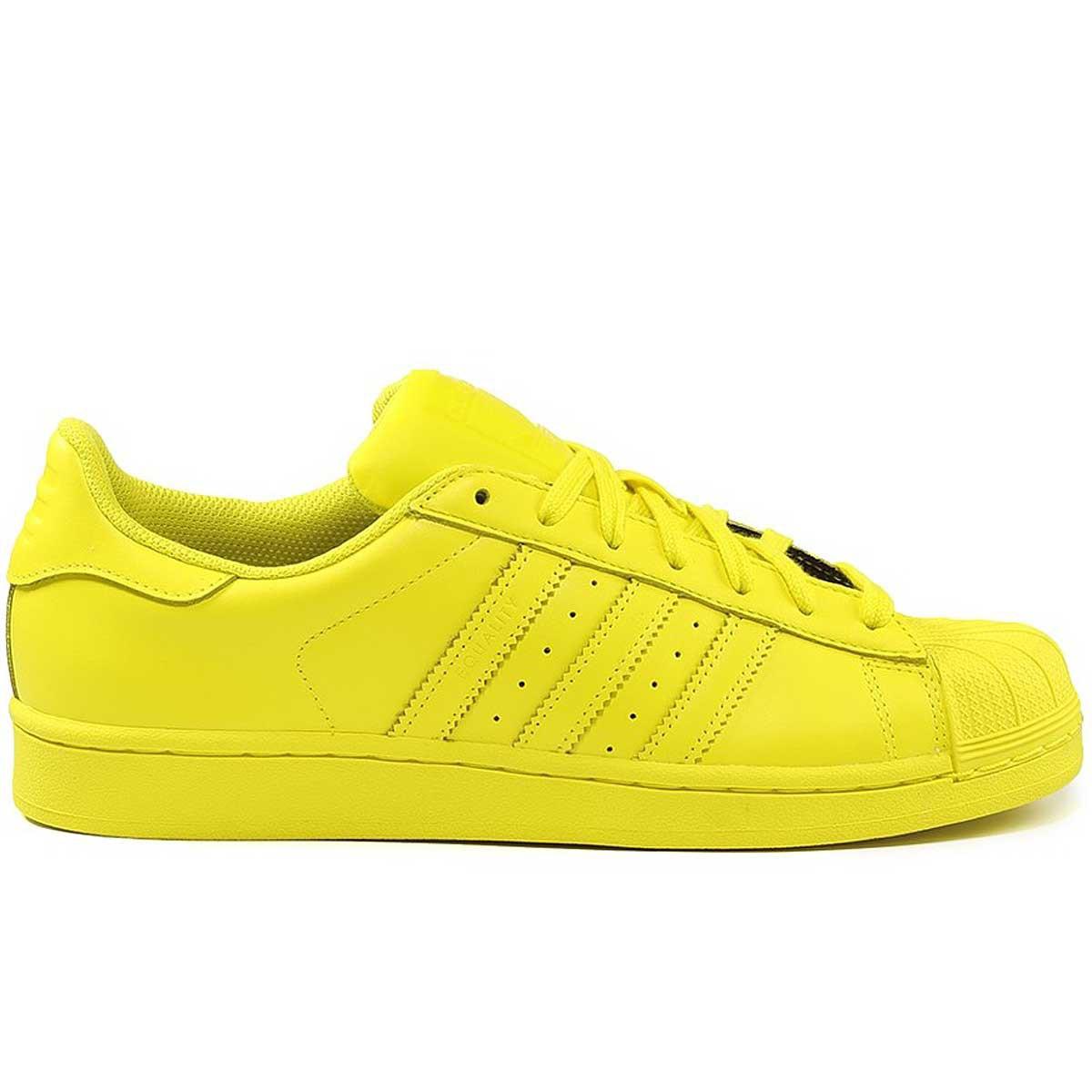 adidas superstar jaune pas cher