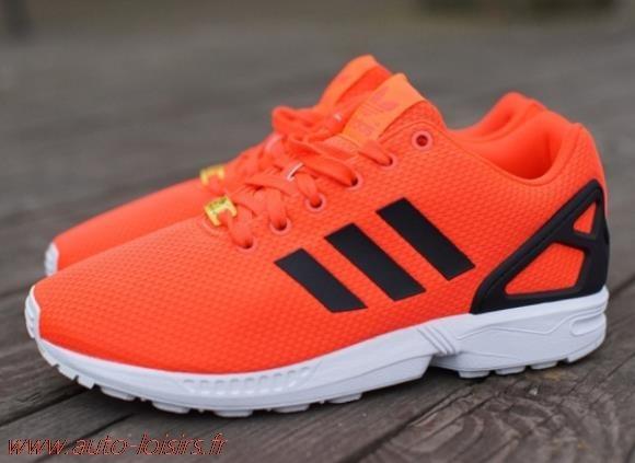 adidas zx flux femme orange