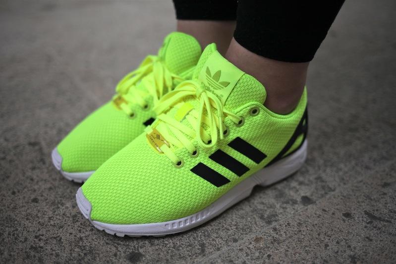 adidas zx flux jaune femme