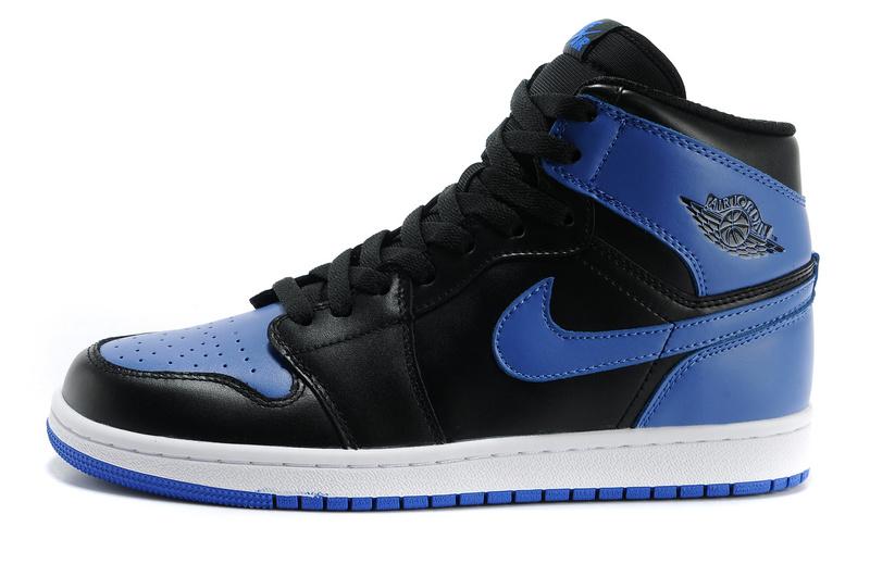 air jordan 1 noir et bleu