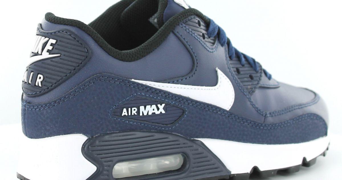 nike air max cuir bleu