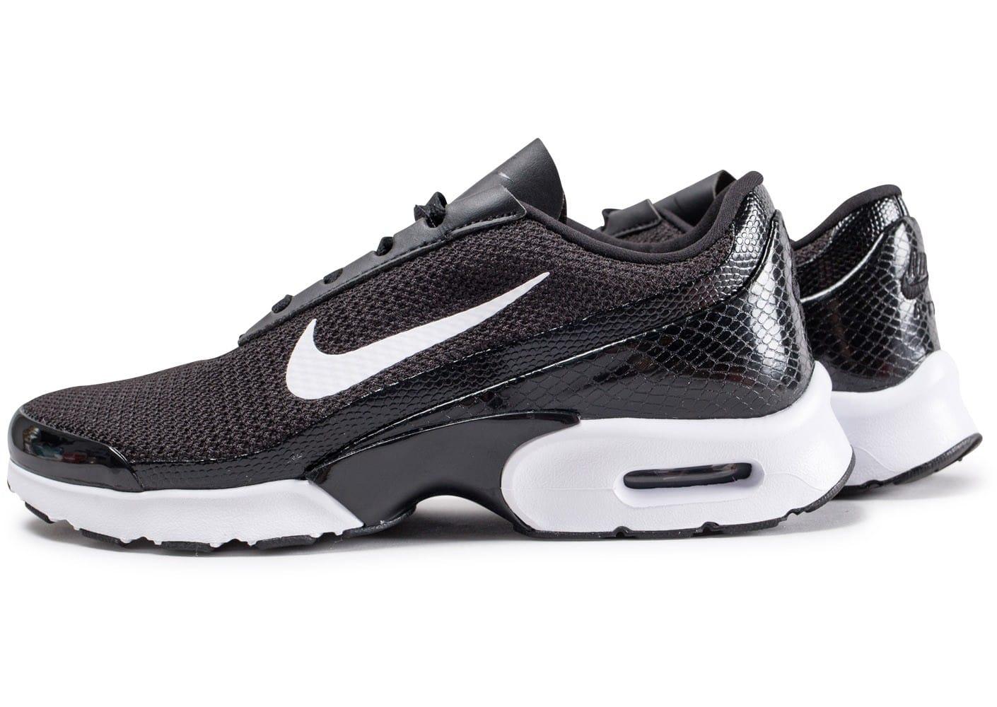 Classique Nike Air Max Jewell Baskets Noir et gris noir
