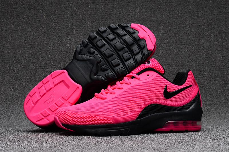 basket air max femmes noir et rose