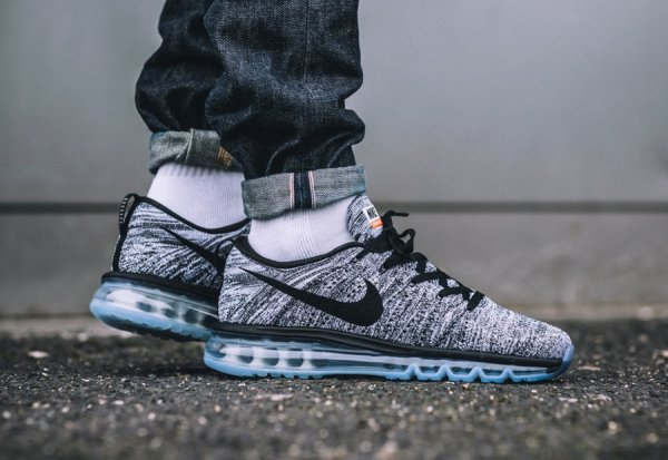 basket nike flyknit air max homme
