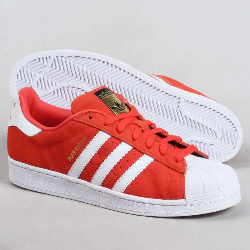 chaussure adidas superstar rouge